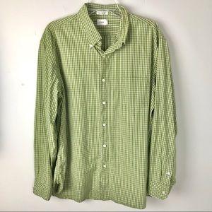 J. Crew | Gingham Button Down Shirt Checks
